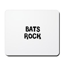BATS ROCK Mousepad