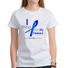 Colon Cancer Husband Tee