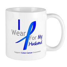 Colon Cancer Husband Mug