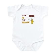 Alex to the Rescue Infant Bodysuit