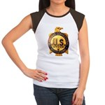 Federal Prison Officer Women's Cap Sleeve T-Shirt