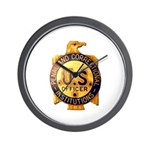 Federal Prison Officer Wall Clock