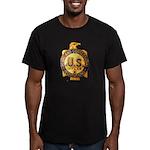 Federal Prison Officer Men's Fitted T-Shirt (dark)
