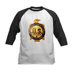 Federal Prison Officer Kids Baseball Jersey