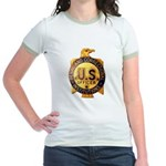 Federal Prison Officer Jr. Ringer T-Shirt