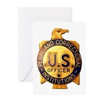 Federal Prison Officer Greeting Cards (Pk of 10)