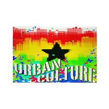 Cute Urban culture Rectangle Magnet