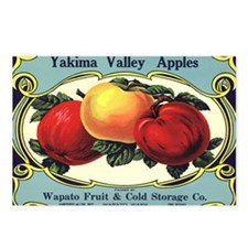 Vintage Fruit Crate Label Postcards (Package of 8)