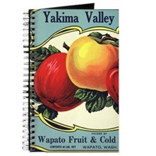 Vintage Fruit Crate Label Journal
