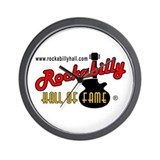 Rockabilly Hall of Fame Wall Clock