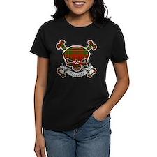 Scott Tartan Skull Tee