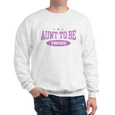 Aunt To Be Twins Sweatshirt