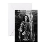 Heroine / Saint Joan of Arc Greeting Cards (Packag