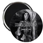 Heroine / Saint Joan of Arc Magnet