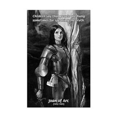Heroine / Saint Joan of Arc Mini Poster Print