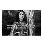 Heroine / Saint Joan of Arc Postcards (Package of