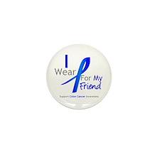 Colon Cancer Friend Mini Button (10 pack)
