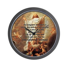 Jesus Kingdom of Heaven Wall Clock