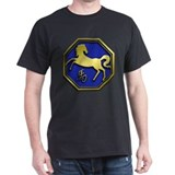 Chinese Zodiac - Horse Black T-Shirt