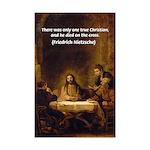 Christianity: Truth / Myth Mini Poster Print