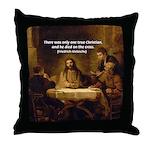 Christianity: Truth / Myth Throw Pillow