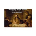 Christianity: Truth / Myth Rectangle Magnet (100 p