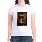 Christianity: Truth / Myth Jr. Ringer T-Shirt