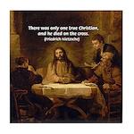 Christianity: Truth / Myth Tile Coaster
