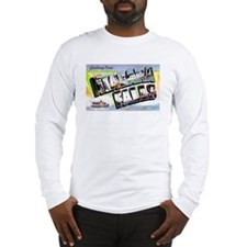 Niagara Falls Greetings Long Sleeve T-Shirt