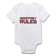 geoffrey rules Infant Bodysuit