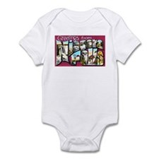 Niagara Falls Greetings Onesie