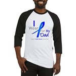 Colon Cancer Dad Baseball Jersey