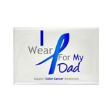 Colon Cancer Dad Rectangle Magnet (100 pack)
