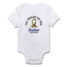Proud Of My Autistic Brother 1 Infant Bodysuit