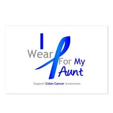 Colon Cancer Aunt Postcards (Package of 8)