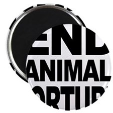 "Animal liberation front 2.25"" Magnet (100 pack)"
