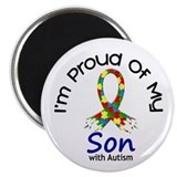 Proud Of My Autistic Son 1 Magnet