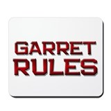 garret rules Mousepad