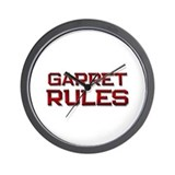 garret rules Wall Clock