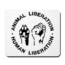 Animal liberation front Mousepad