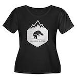 Peace Love Twilight Organic Women's Fitted T-Shirt