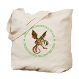 BEWARE THE JABBERWOCK Tote Bag