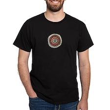 Chumash Sun Black T-Shirt