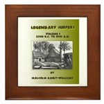 LEGENDARY SURFERS Volume 1 Framed Tile