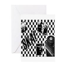 ska music Greeting Cards