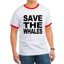 Cute Save the whales T