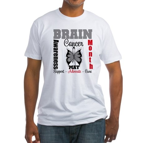 BrainCancerAwarenessMonth Fitted T-Shirt