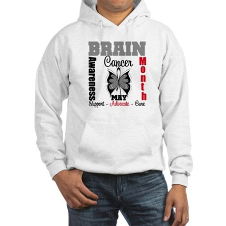 BrainCancerAwarenessMonth Hooded Sweatshirt