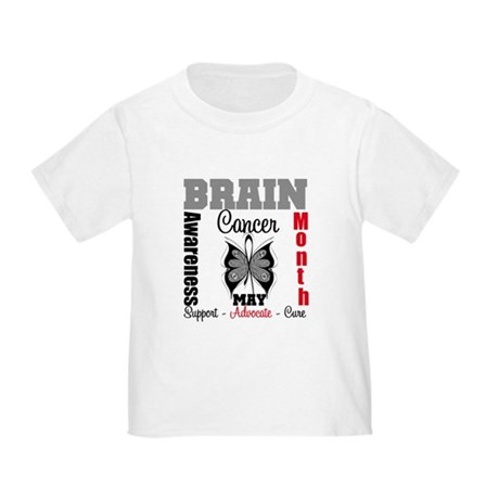 BrainCancerAwarenessMonth Toddler T-Shirt