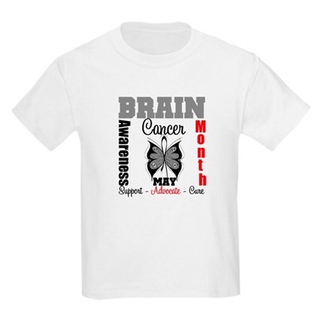 BrainCancerAwarenessMonth Kids Light T-Shirt